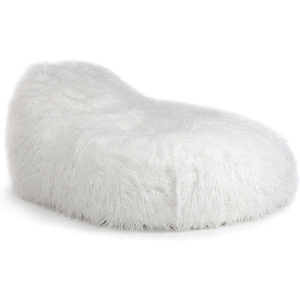 sitzsack seat xl kunstfell fur wei mytoys. Black Bedroom Furniture Sets. Home Design Ideas