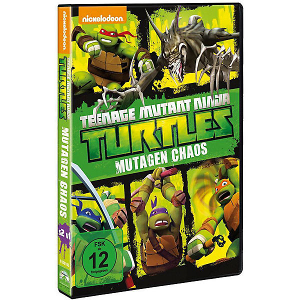 DVD Teenage Mutant Ninja Turtles: Mutagen Chaos