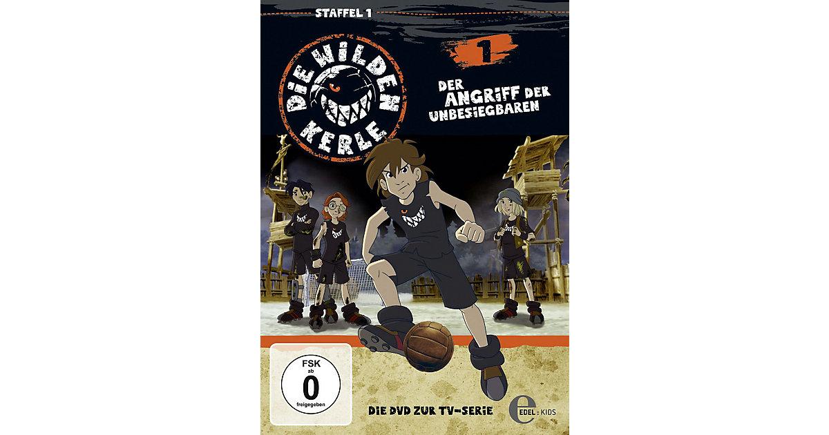 DVD Die Wilden Kerle 01 - Der Angriff der Unbes...