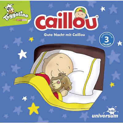 CD Gute Nacht mit Caillou