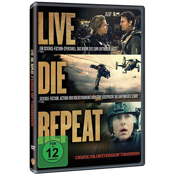DVD Edge of Tomorrow