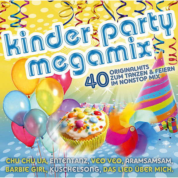 CD Kinderparty Megamix 40