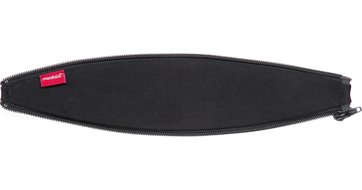 manduca Reißverschlusseinsatz Rückenverlängerung Zipln, Ellipse black Kinder