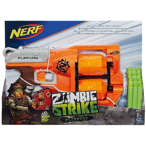 "Бластер Nerf ""Zombie Strike"" Переворот"