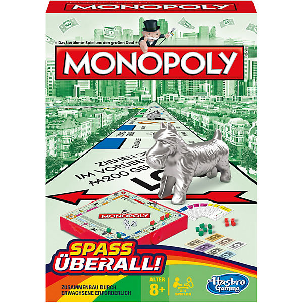 monopoly kompakt von hasbro