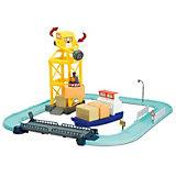 Игровой набор «Порт с разводным мостом», Робокар Поли