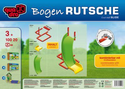 Klettergerüst Quadro Rutsche : Bogen rutsche quadro mytoys