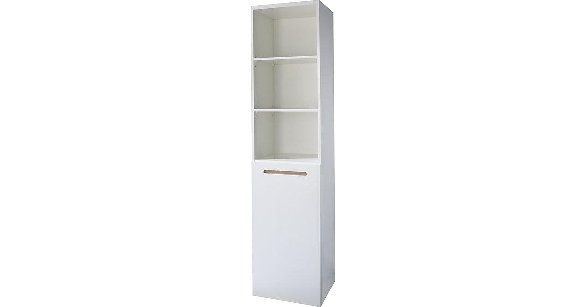 Standregal CAMBINO CITY, Weiß weiß | Wohnzimmer > Regale > Einzelregale | Roba