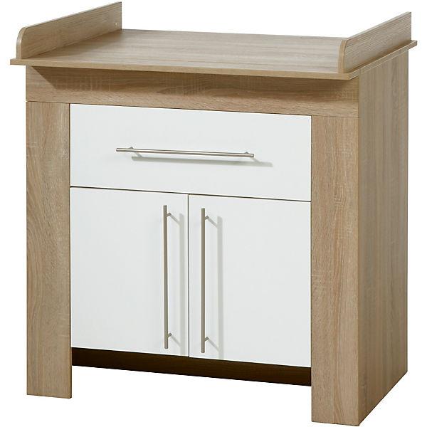 wickelkommode schmal jenny mit schublade wei sonoma. Black Bedroom Furniture Sets. Home Design Ideas
