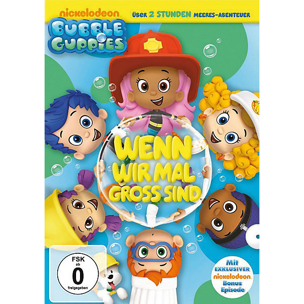 DVD Bubble Guppies - Wenn wir mal gross sind