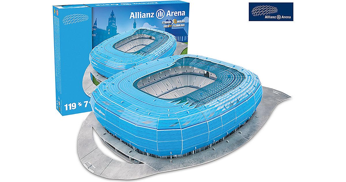 3D Stadion-Puzzle Allianz Arena München (blau)