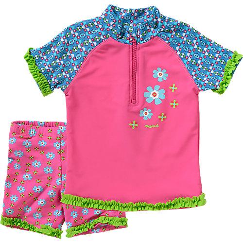 Playshoes 2-teiliger Kinder Schwimmanzug mit UV Schutz Gr. 74/80 Mädchen Baby   04010952383904