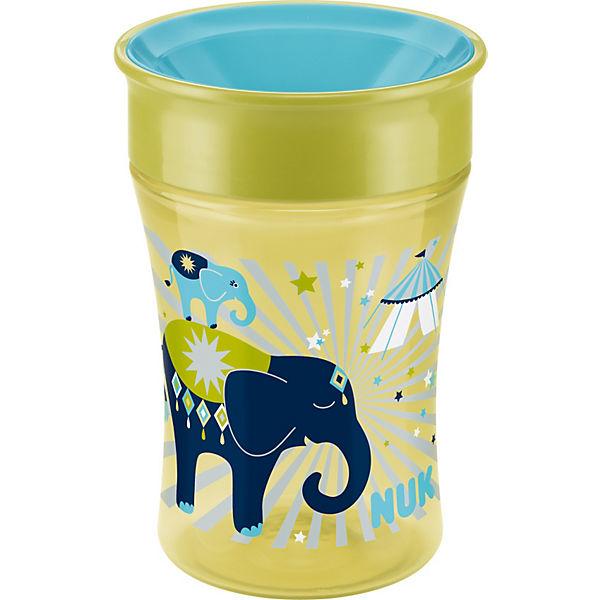 trinkbecher magic cup pp 250 ml elefant nuk mytoys. Black Bedroom Furniture Sets. Home Design Ideas