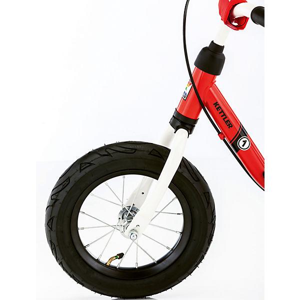 KETTLER Laufrad Spirit Air 039; 12,5& 039;& 039; Air Racing, weiß-schwarz-rot, Kettler cadabb