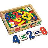 """Магнитная игра """"Цифры"""" (37шт), Melissa & Doug"""