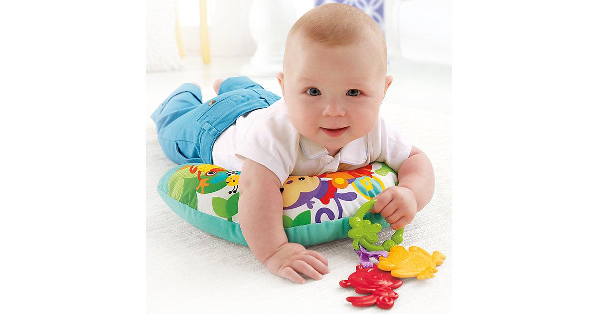 Fisher-Price Rainforest Spielkissen Bauchlage, Baby-Spielzeug Neugeborene  Kinder