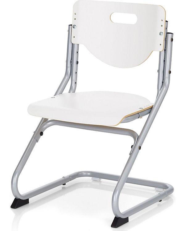 Schreibtischstuhl Kids Chair Plus Silberfarbigweiss Kettler Mytoys