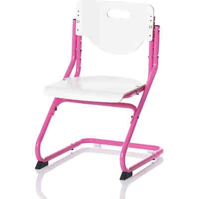 Schreibtischstuhl ohne rollen kind  Schreibtischstuhl KID's Chair Plus, pink/weiss, Kettler | myToys