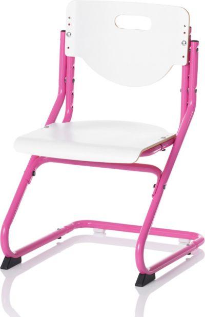 Schreibtischstuhl ohne rollen  Schreibtisch Little, höhenverstellbar, weiß/silberfarbig, Kettler ...