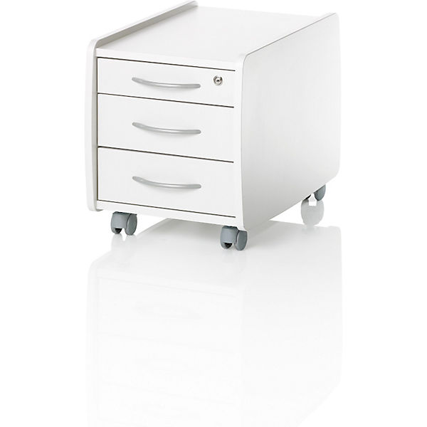 Rollcontainer Trio Box, Weiss