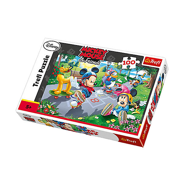 Puzzle 100 Teile - Mickey Mouse and Friends