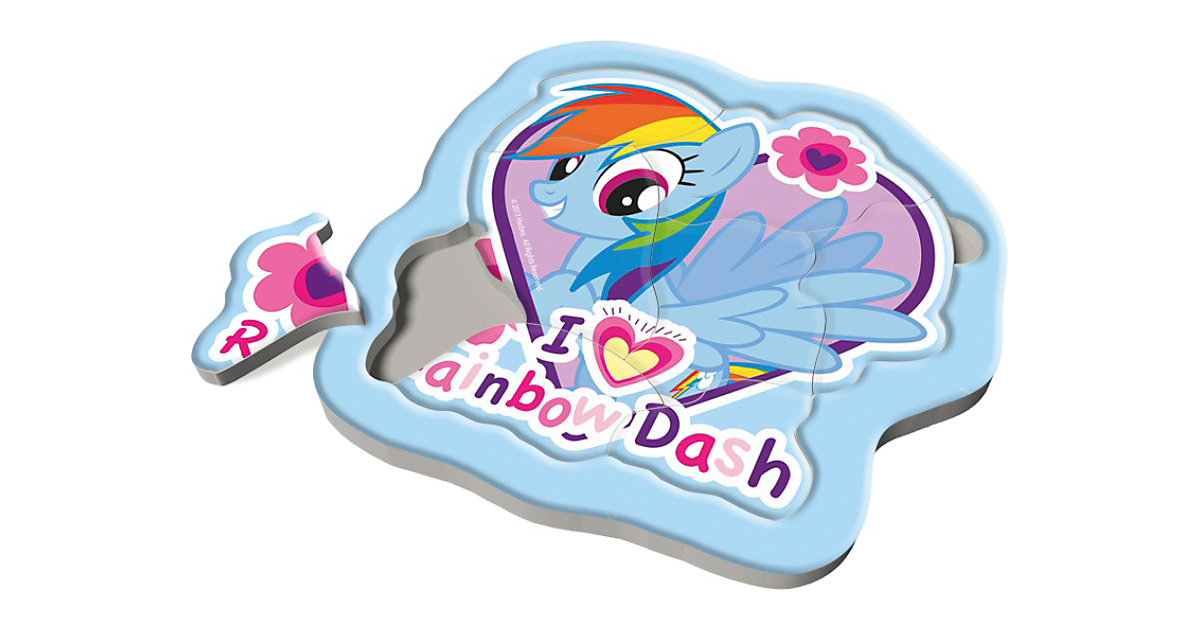 Rahmenpuzzle Baby Fun - My Little Pony