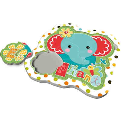 Rahmenpuzzle Baby Fun - Fisher Price - Elefant