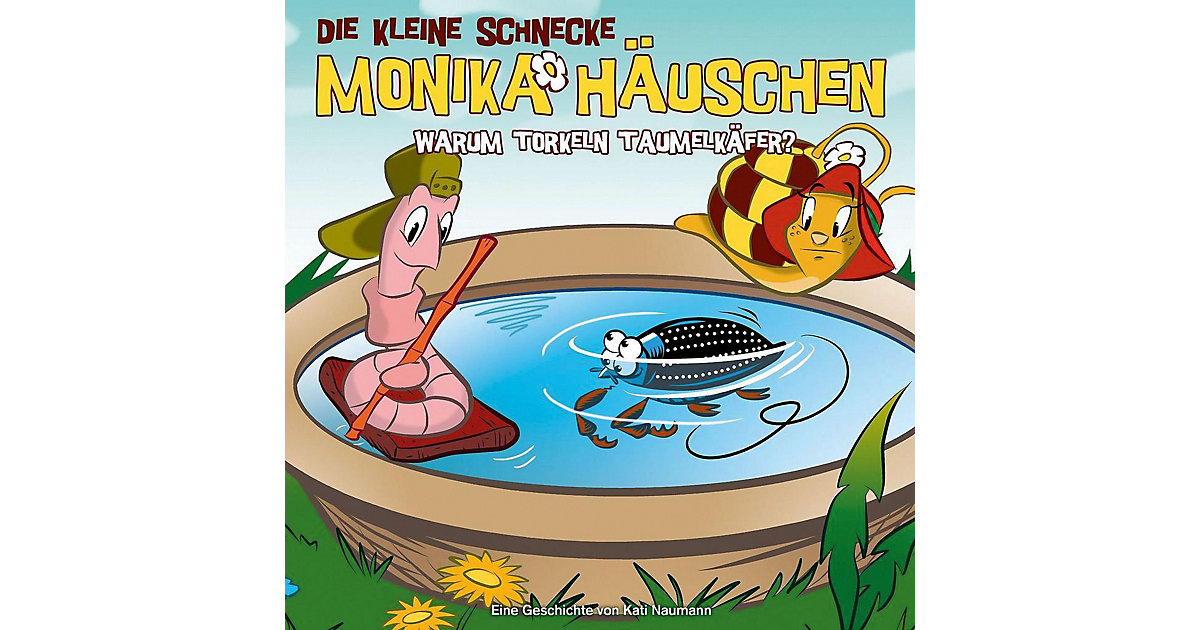 CD Die Kleine Schnecke Monika Häuschen 38 - Warum torkeln Taumelkäfer? Hörbuch