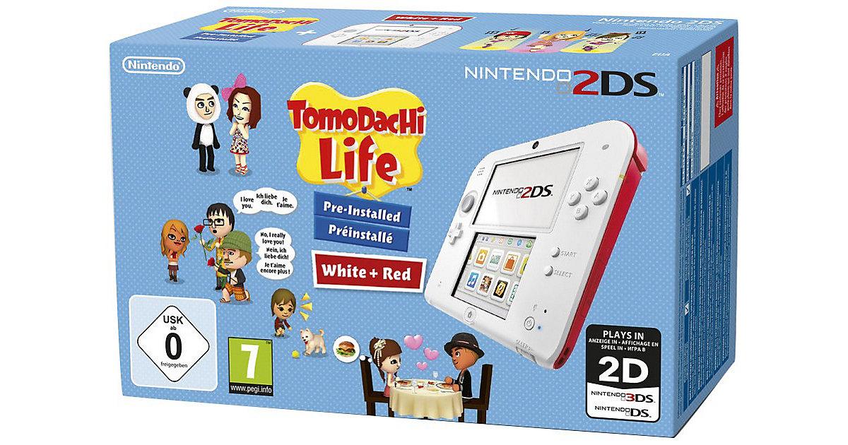 Nintendo 2DS Konsole + Tomdachi (vorinstalliert...