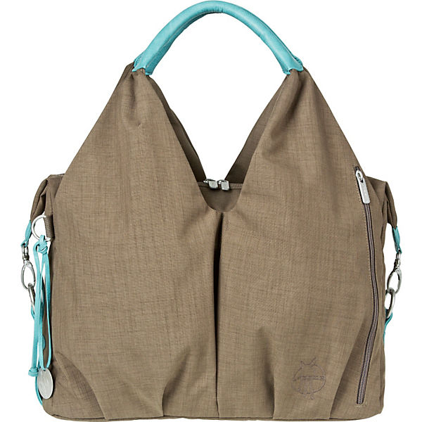 Wickeltasche Greenlabel, Neckline Bag, taupe