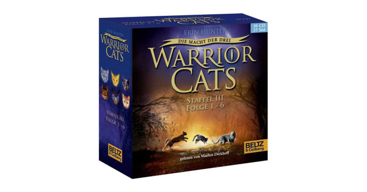 Warrior Cats - Die Macht der drei, 30 Audio-CDs