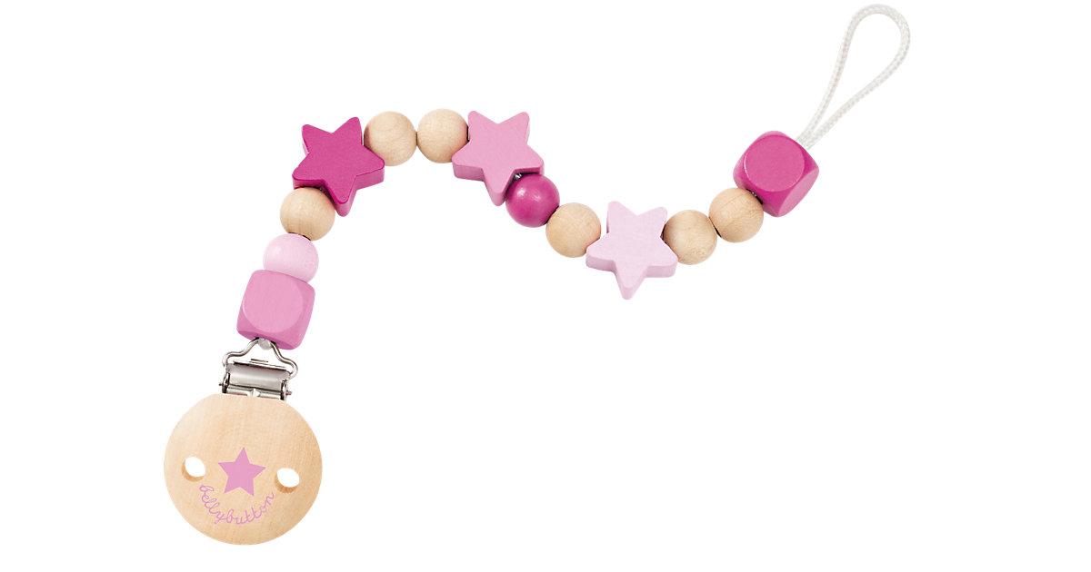 Selecta · Sternchenglück Schnullerkette rosa