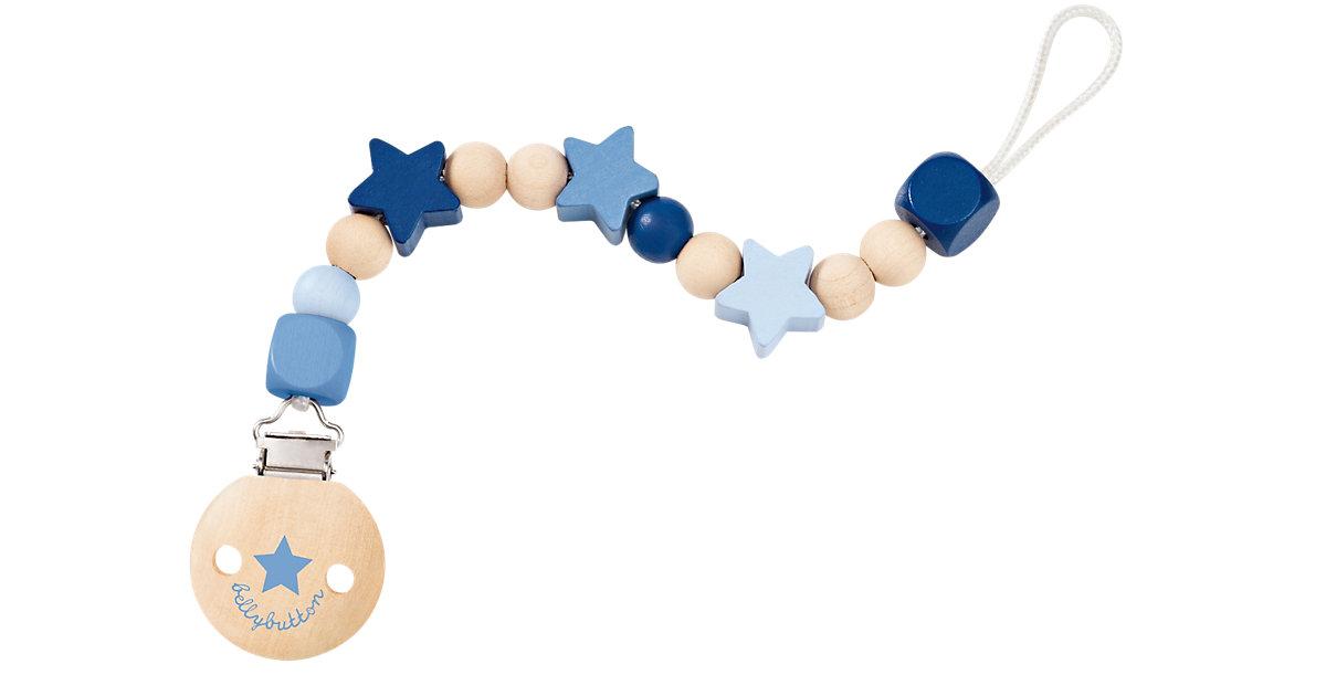 Selecta · Sternchenglück Schnullerkette bellybutton, blau