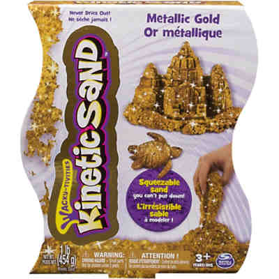 Kinetic Sand Metallic (454g)