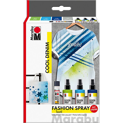 Fashion-Spray Cool Denim Textilsprühfarbe | 04007751590077