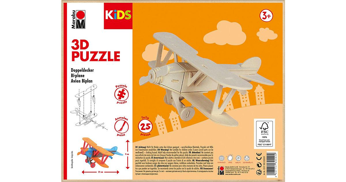 mara by Marabu 3D Puzzle Doppeldecker