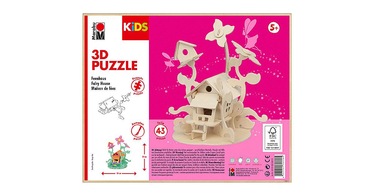mara by Marabu 3D Puzzle Feenhaus