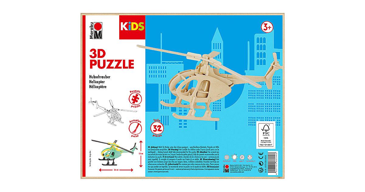 mara by Marabu 3D Puzzle Helikopter