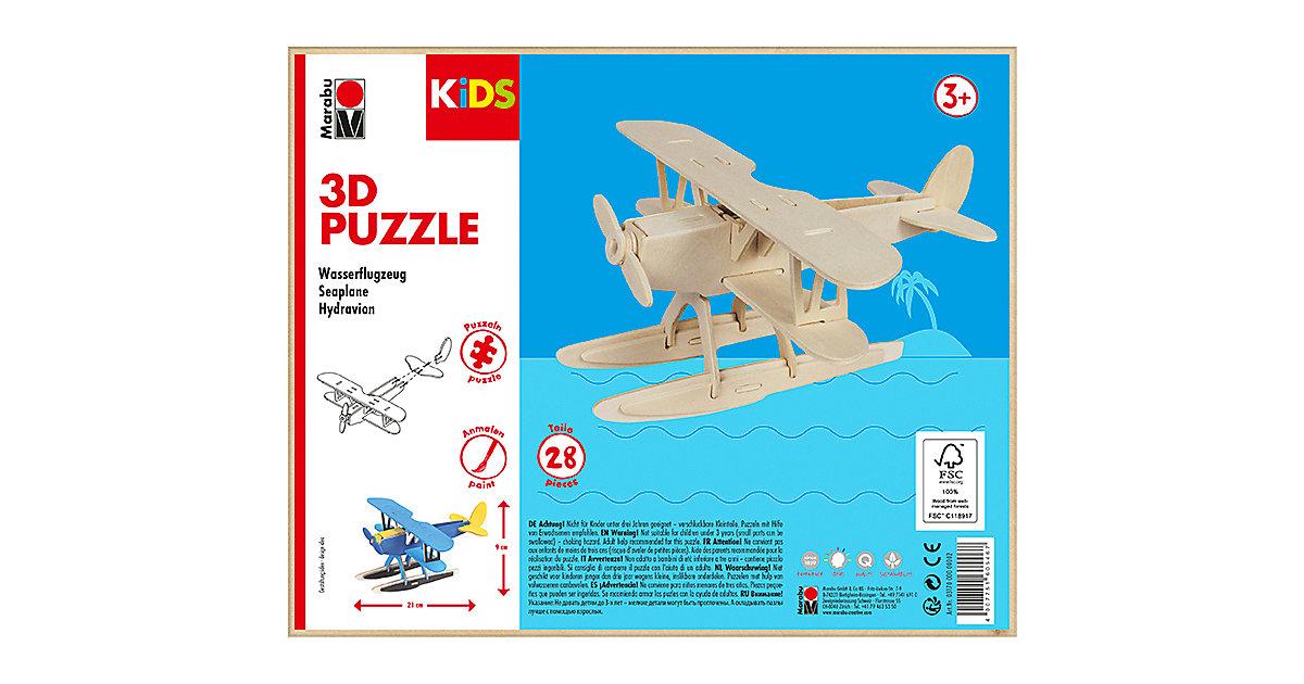 mara by Marabu 3D Puzzle Wasserflugzeug