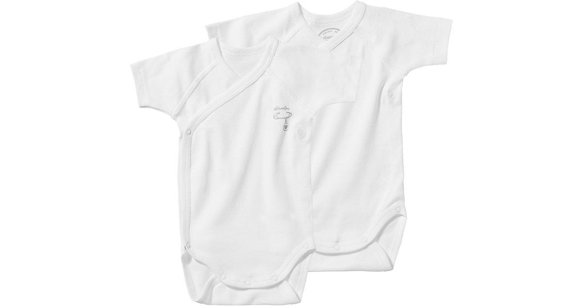 ABSORBA Baby Wickelbodys Doppelpack Gr. 68