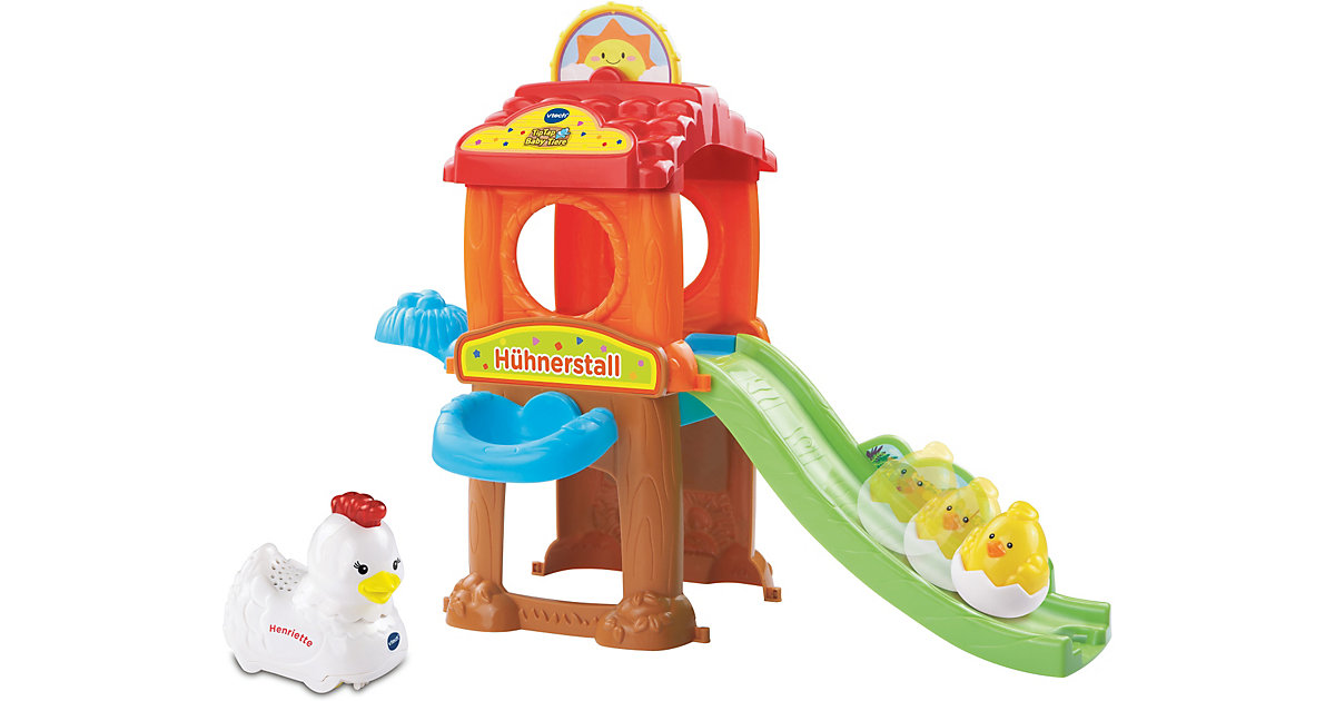 Tip Tap Baby Tiere - Spielset Hühnerstall