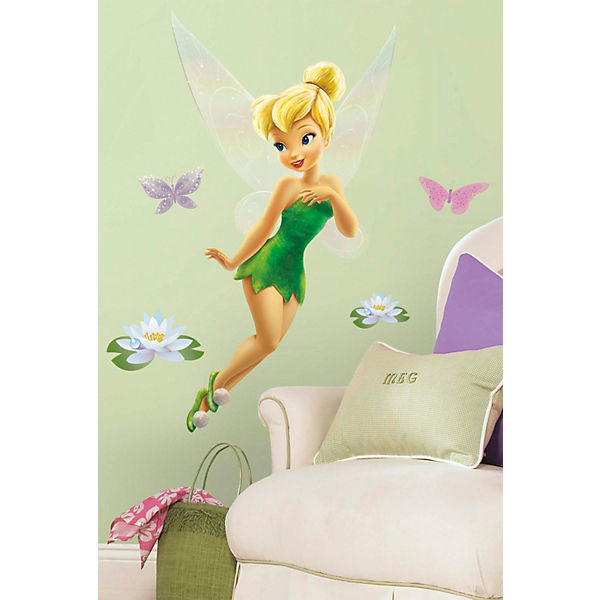 Wandsticker Disney Fairies Tinkerbell 10 Tlg Disney Fairies Mytoys