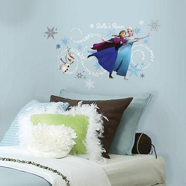Wandsticker Die Eiskönigin, Elsa, Anna & Olaf, 144-tlg., Disney Die ...