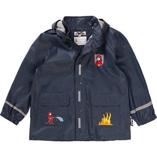 Playshoes  Kinder Regenjacke Feuerwehr Gr. 98 Jungen Kleinkinder   04010952360165