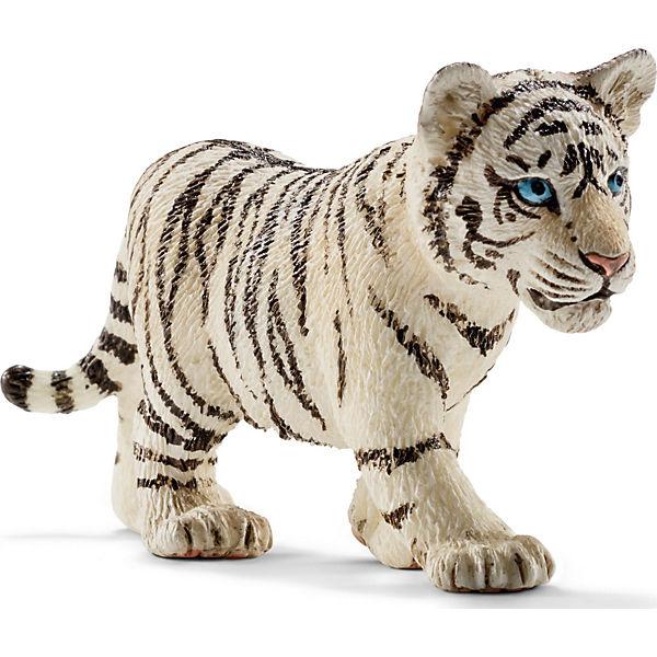 Schleich 14732 Wild Life: Tigerjunges, wei, Schleich