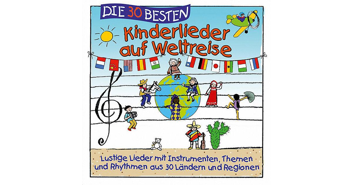 CD Die 30 besten Kinderlieder auf Weltreise