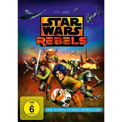 DVD STAR WARS REBELS - Der Funke einer Rebellion