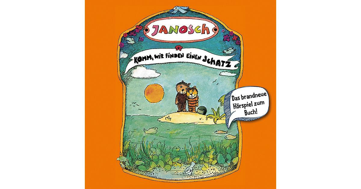 CD Janosch - Komm wir finden einen Schatz Hörbuch