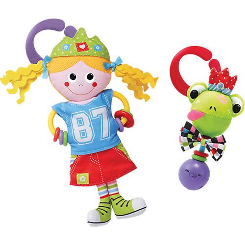 "Игрушка-погремушка ""Девочка в городе"",  Yookidoo от Yookidoo"