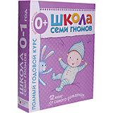 """Набор из 12 книг """"Школа Семи Гномов"""" Полный годовой курс 0-1 год"""